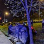 Tuzla, u saobraćajnoj nezgodi na Sjenjaku jedna osoba smrtno stradala